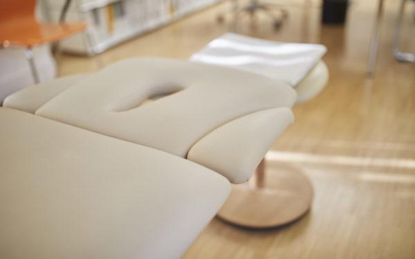 Blick in die Praxis des Osteopathen Dr. Michael in Karlsruhe